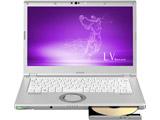 【在庫限り】 モバイルノートPC Let's note LVシリーズ CF-LV7CDGQR シルバー [Win10 Pro・Core i5・14.0インチ・Office付き]