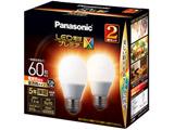 LED電球[E26 /電球色 /810ルーメン /2個] プレミアX LDA7LDGSZ62T [E26 /電球色]