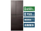 【基本設置料金セット】 冷蔵庫 NR-F655HPX-T アルベロダークブラウン 【買い替え10000pt】