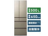 【10/30発売予定】【基本設置料金セット】 冷蔵庫 NR-F505HPX-N アルベロゴールド 【買い替え10000pt】