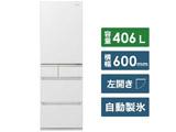 【基本設置料金セット】 冷蔵庫 NR-E415PVL-W スノーホワイト 【買い替え5000pt】