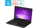 CF-LV8LDVQR ノートパソコン Let's note(レッツノート)LV8シリーズ ブラック [14.0型 /intel Core i7 /SSD:512GB /メモリ:8GB /2019