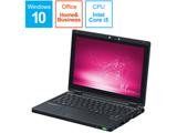 モバイルノートPC レッツノート CF-RZ8KFMQR ブラック [Win10 Pro・Core i5・10.1インチ・Office付き・SSD 256GB・メモリ 8GB]