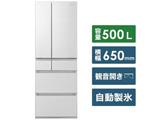 【基本設置料金セット】 冷蔵庫 HPXタイプ アルベロホワイト NR-F507HPX-W [6ドア /観音開きタイプ /500L]