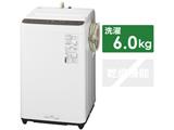 全自動洗濯機 Fシリーズ ニュアンスブラウン NA-F60PB14-T [洗濯6.0kg /上開き]