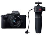 DC-G100V-K VLOGミラーレス一眼カメラ Vキット(トライポッドグリップ付) LUMIX G100 ブラック  [ズームレンズ]