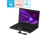 ノートパソコン レッツノート LVシリーズ ブラック CF-LV9KDNQR [14.0型 /intel Core i7 /SSD:512GB /メモリ:8GB /2020年6月モデル]