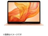 MacBook Air 13インチRetinaディスプレイ USキーボード カスタマイズモデル MREF2JA/A ゴールド [Core i5 1.6GHzデュアルコア・SSD 256GB・メモリ 8GB]
