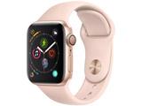 Apple Watch Series 4(GPSモデル)- 40mmゴールドアルミニウムケースとピンクサンドスポーツバンド MU682J/A