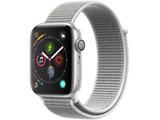 Apple Watch Series 4(GPSモデル)- 44mmシルバーアルミニウムケースとシーシェルスポーツループ MU6C2J/A