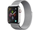 Apple Watch Series 4(GPS + Cellularモデル)- 44mmステンレススチールケースとミラネーゼループ MTX12J/A
