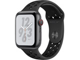 Apple Watch Nike+ Series 4(GPS + Cellularモデル)- 44mmスペースグレイアルミニウムケースとアンスラサイト/ブラックNikeスポーツバンド MTXM2J/A