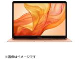 MacBook Air 13インチRetinaディスプレイ MUQV2JA/A ゴールド USキーボード [Core i5 1.6GHzデュアルコア・SSD 512GB・メモリ 16GB]