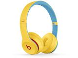 ブルートゥースヘッドホン Beats Solo3 Wireless - Beats Club Collection MV8U2PA/A クラブイエロー [リモコン・マイク対応 /Bluetooth