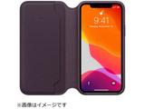 【在庫限り】 【純正】iPhone 11 Pro 5.8インチ レザーフォリオ オウバジーン MX072FEA