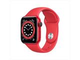 Apple Watch Series 6(GPS + Cellularモデル)- 40mm (PRODUCT)REDアルミニウムケースと(PRODUCT)REDスポーツバンド - レギュラー