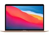 13インチMacBook Air: 8コアCPUと8コアGPUを搭載したApple M1チップ 512GB SSD - ゴールド   MGNE3J/A [13.3型 /SSD:512GB /メモリ:8GB /2020年モデル]