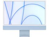 24インチiMac Retina 4.5Kディスプレイモデル: 8コアCPUと8コアGPUを搭載したApple M1チップ, 256GB - ブルー   MGPK3J/A [23.5型 /Apple M1 /メモリ:8GB /SSD:256GB /2021年5月]