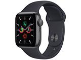 Apple(アップル) Apple Watch SE(GPSモデル)40mmスペースグレイアルミニウムケースとミッドナイトスポーツバンド   MKQ13J/A 【磁気充電-USB-Cケーブル同梱モデル】