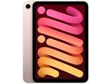 iPad mini(第6世代) A15 Bionic 8.3型 ストレージ:64GB MLWL3J/A ピンク