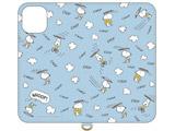 ピーナッツ iPhone 11 6.1インチ/iPhoneXR 対応フリップカバー スヌーピー SNG-455B
