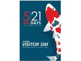 ナノSIM 「b-mobile VISITOR SIM 5GB 21days Prepaid data」 BM-VSC-5GB21DN [SMS非対応 /ナノSIM]