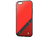 iPhone 6用 SoftBank SELECTION EQUAL stand レッド SB-IA10-CBSD/RD