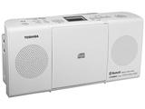 CDラジオ(ラジオ+CD)(ホワイト) TY-CW26 W【ワイドFM対応】