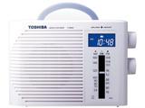 TYBR30F ホームラジオ ホワイト [防水ラジオ /AM/FM /ワイドFM対応]