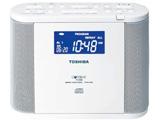 TY-CDR8 CDラジオ ホワイト [ワイドFM対応]