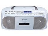 【ワイドFM対応】CDラジカセ(ラジオ+CD+カセットテープ) リモコン付 TY-CDH7