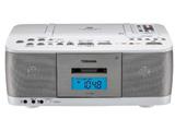CDラジカセ(ラジオ+CD+カセットテープ) (ホワイト) TY-CDK9W