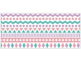 マスキングテープ 30mm(triangle mosaic_PASTEL) W02-MK-T0053