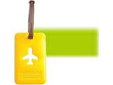 ALIFE ハッピーフライト スクエア ラゲージ タグ SNCF-043-3 グリーン