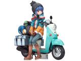 【08月発売予定】 ゆるキャン△ 志摩リン with スクーター 1/10 塗装済完成品フィギュア