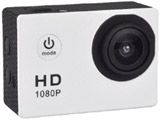 マイクロSD対応 防水ハウジングケース付きアクションカメラ(ホワイト) AC150WH