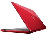 ノートPC  Inspiron 15 5000 5565 NI25-7NHBR レッド [Win10 Home・AMD A6・15.6インチ・Office付き・HDD 500GB・メモリ 4GB]