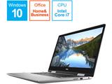 NI575CP-9HHB ノートパソコン Inspiron 15 5000 2-in-1 シルバー [15.6型 /intel Core i7 /SSD:512GB /メモリ:16GB /2019