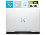 ゲーミングノートPC Dell G5 15 5590 NG75VR-9NLCW ホワイト [Core i7・15.6インチ・メモリ 8GB・GTX 1660Ti]