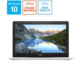 ノートPC Inspiron 15 3000 3580 NI335-9HHBW ホワイト [Core i3・15.6インチ・Office付き・HDD 1TB・メモリ 4GB]