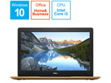 ノートPC Inspiron 15 3000 3580 NI335-9HHBC カッパー [Core i3・15.6インチ・Office付き・HDD 1TB・メモリ 4GB]