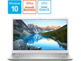 モバイルノートPC Inspiron 13 5390 MI533-9NHBS シルバー [Core i3・13.3インチ・SSD 128GB・メモリ 4GB]