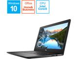 NI355L-9WHBB ノートパソコン Inspiron 15 3593 ブラック [15.6型 /intel Core i5 /SSD:256GB /メモリ:8GB /2019年秋冬モデル]