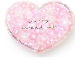 ハートアルバム for チェキ Wedding(PK) KAH-01