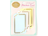 ポケットカード for チェキ lace KCC-05