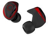 フルワイヤレスイヤホン True Wireless Kyo-ons BR ブラック&レッド MS-TW01-BR