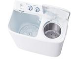 JW-W55E-W ホワイト 2槽式洗濯機(5.5kg)