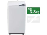 全自動洗濯機 JW-K33G-W ホワイト [洗濯3.3kg /上開き]