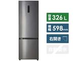 【基本設置料金セット】 冷蔵庫 3in2series シルバー JR-NF326A-S [2ドア /右開きタイプ /326L]