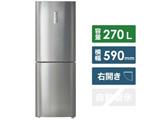 【基本設置料金セット】 冷蔵庫  シルバー JR-27A-S [2ドア /右開きタイプ /270L]